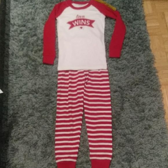 NWT Gymboree Holiday Elf Gnome Gymmies Sleep Set Christmas Pajamas Girls 8